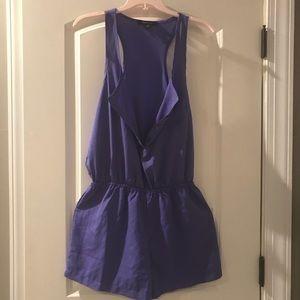 Purple romper